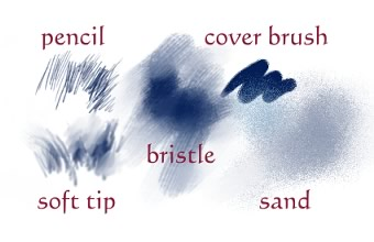 sketch brushes